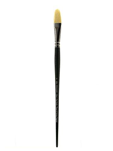 Winsor & Newton Mango 5976710 Winton Avellana Largo Brush No. 10 - Pack de 3