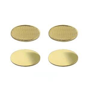 Manschettenknöpfe 19 x 11 mm