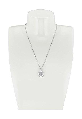JETTE-Silver-Damen-Collier-ALWAYS-MINI-925er-Silber-37-Zirkonia-silber-One-Size