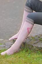 Esperado Kniestrumpf Spirit in rosa, Größe:39-42