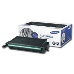 Preisvergleich Produktbild Samsung CLP-K660A/ELS Original Toner (Kompatibel mit: CLP-610/CLP-660/CLX-6200/6210/6240 Series) schwarz