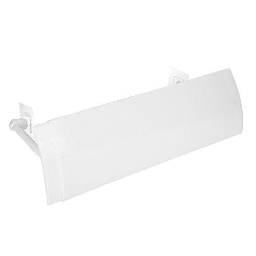 Klimaanlage Windabweiser Ablenkblech Anti Direktblasen Versenkbarer Klimaanlagenschild Einstellbare Windabweiser Skala Luftführungsabdeckung für Wohn Zubehör