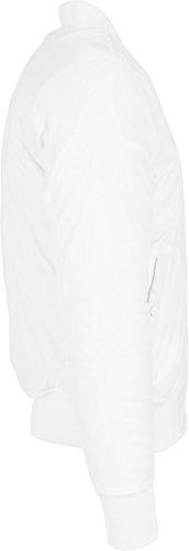 Urban Classics Basic Bomber Jacket, Giacca Uomo Weiß (white 220)