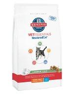 Hill's Vetessentials Feline Jeune Adulte Chat Stérilisé Mâles/Femelles Nourriture Croquette pour Chat 1 à 6 Ans Poulet 3 kg
