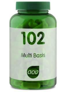 AOV 102 Multi Basis 120 veg. Kapseln - Multi Vitamin-120 Kapseln