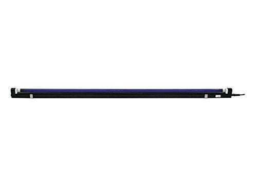 EUROLITE UV-Röhre Komplettset 120cm 28W ultra slim | Anschlussfertiges Set mit Röhre + Befestigungsmaterialien