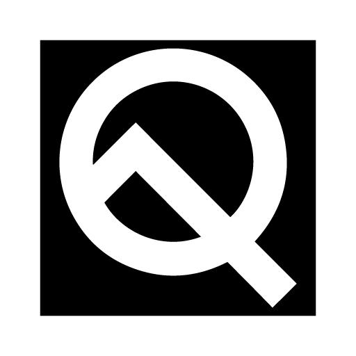 Square Black UI - Icon Pack