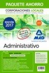 Paquete Ahorro Administrativo de Corporaciones Locales. por VARIOS AUTORES