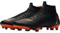 Nike Herren Vapor 12 Academy Ic Fußballschuhe,Schwarz (Black/Total Orange-W 081),42.5 EU