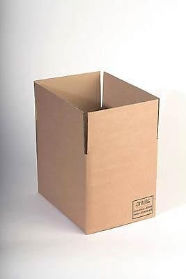 Top Masterline Corrugated Cardboard Boxes -Double Wall 120k/bc/t – Size/ Dimensions: 305mm x 229mm x 152mm Number of Items: 300 boxes on Amazon