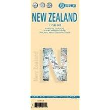 Carte routière : Nouvelle Zélande