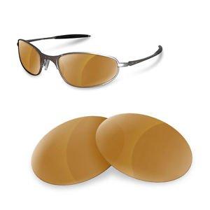 sunglasses restorer Custom Wechselgläser für A Wire 1.0 (Polarized Gold Iridium Gläser)