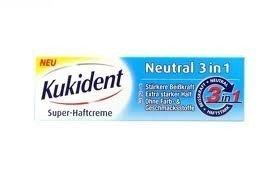 Kukident Haftcreme neutral 3in1 40g