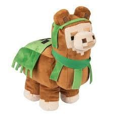 Minecraft Llama Plush, Brown/Green
