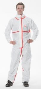 Preisvergleich Produktbild 3M Chemieschutzoverall Typ 4/5/6, XXL, weiß, 4565XXL