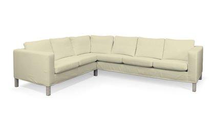 Organic Pure Beige Cover for IKEA KARLANDA Corner Sofa Short Cover Right