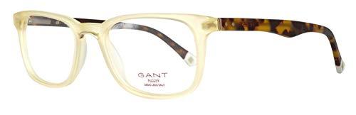 GANT GRA100 50L08 Brille GRA100 50L08 Wayfarer Brillengestelle 50, Honey