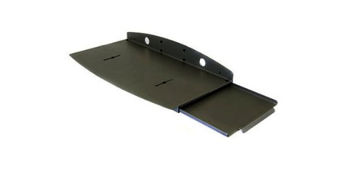 Keyboard Tray w/Sliding MouseTray/black