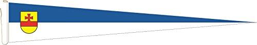 Haute Qualité pour U24 Long Fanion Drapeau Meppen 250 x 40 cm