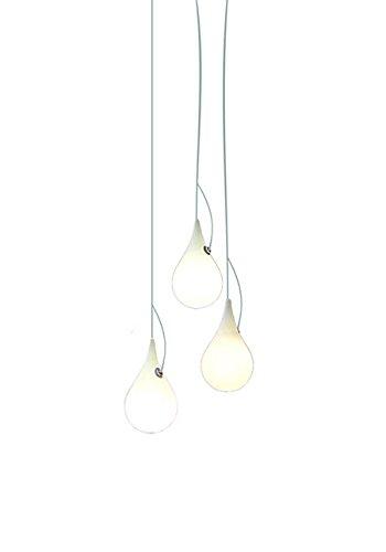 next - Liquid Light Drop LED Kronleuchter XS Drei Leuchtkörper - Hopf & Wortmann - Design - Pendelleuchte