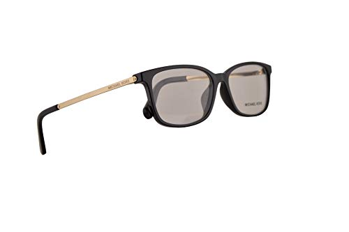 Michael Kors MK4060U Telluride Eyeglasses 54-15-140 Black w/Demo Clear Lens 3332 MK 4060U