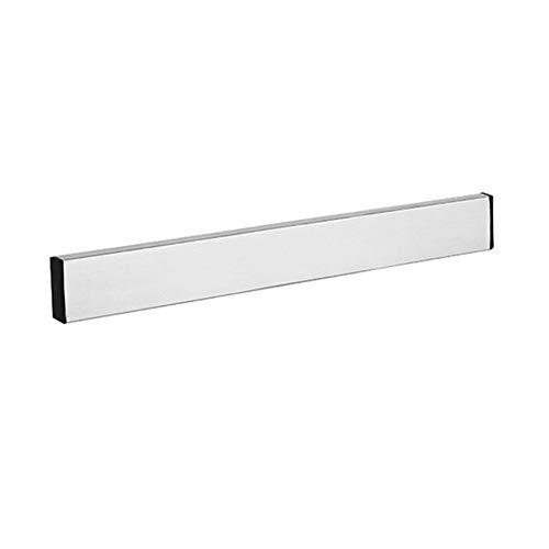 WEIWEITOE-DE Magnetischer Selbstklebender Messerhalter-Stand-Edelstahl-Block an der Wand befestigter einfacher Speicher-Messer-Gestell-Streifen für Küchengerät, Silber, 510 * 40 * 15 Utensil Wand