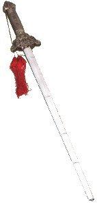Teleskop Tai Chi Schwert (ausziehbar) (Schwert Bambus Stock)