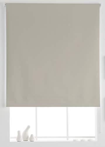 Estoralis Aral Estor Enrollable Liso, Beige, 130x230 cm