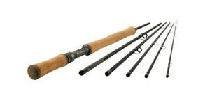 Shakespeare Oracle 7/8 Salmon Fly Rod (6 Piece) - Black, 11 ft by Shakespeare