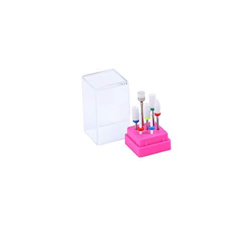 Cuteelf Schleifmaschine - professioneller polierter Ziegelstein, elektrisches Maniküreschärfwerkzeug zur Entfernung abgestorbener Haut