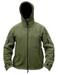 Pour Homme Combat Militaire Armée Britannique nous Recon Sweat à capuche en polaire capuche Sweat pour homme Fermeture Éclair pour Femme Veste pour homme neuf