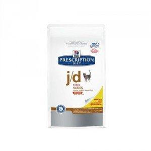 Hill' s prescrizione Diet Feline J/D Salute articolare Cibo per Gatti crocchette 5kg Pollo