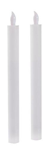 bkerze Echtwachs weiss 5 x 2,5 x 25 cm ()