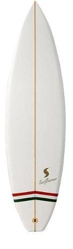 Tierra Zen INC307501 Surfbrett Surf Burner Volume 1, weiß, 30x 6x 0,2cm weiß