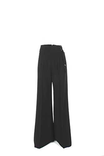 Pantalone Donna Elisabetta Franchi 44 Nero Pa9603236 1/7 Primavera Estate 2017