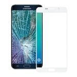 Seasiant India Front Screen Outer Glass Lens for Galaxy Note 5(White)