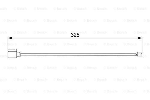Contact d'avertissement, usure des plaquettes de frein 1 987 474 567