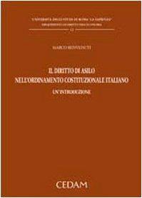 Il diritto di asilo nell'ordinamento costituzionale italiano. Un'introduzione