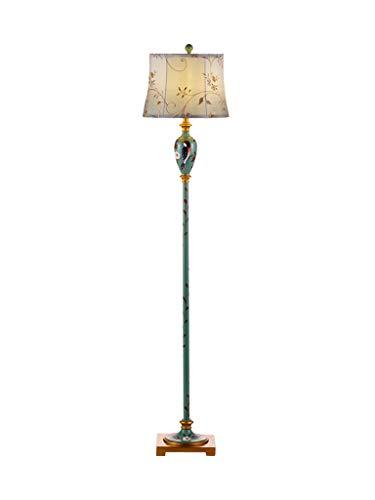 BEI-YI Lámpara de pie Salón Dormitorio Estilo Americano Lámpara Lámpara de Mesa...