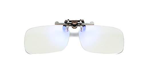 Gaming brille clip-Brillen Clip-Augenschonende Brillen-Clips, Blaulicht-Filter für Bildschirme (UV-Brillenclip)-anti kopfschmerzen/brillen anti müdigkeit