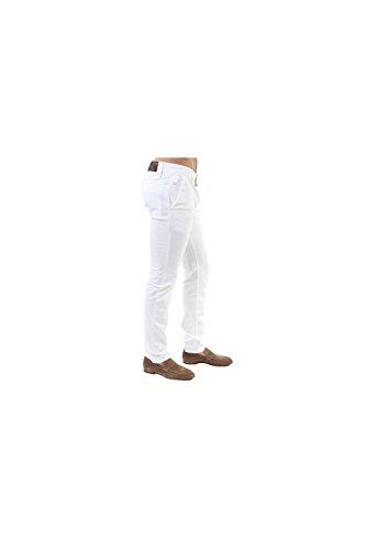 BOSS Orange Schino-Slim1-D - Pantalon - Slim - Homme Blanc