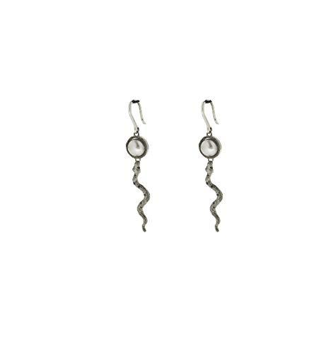 Manhattan Perlen (Ohrringe Rebecca Schmuck Totenkopf und Perle Kollektion Manhattan bmnopn17)