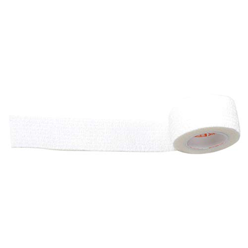 D DOLITY Kohäsive Wrap Bandageband Selbstklebende Bandage Tape für Athletic Sport 4.5mx2.5cm - Weiß - Kohäsive Bandage Wrap