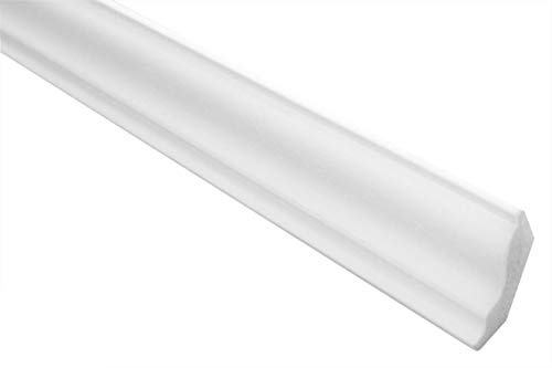 Preisvergleich Produktbild 30 Meter | Stuckleiste | XPS | stabil | Marbet | 30x30mm | E-4