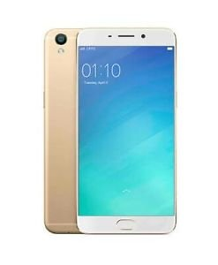 OPPO A-57 Mobile In Gold Colour image