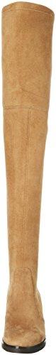 Buffalo 2865 Micro Strech, Bottes Haute femme Beige - Beige (Roble 01)