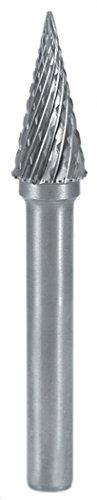 Ruko 116039 - Erdbeeren Hartmetall Spitze Form M - SKM Konus in (16 x 70 mm), 16 mm