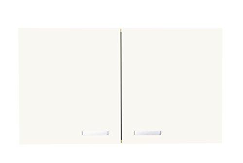 aadia DO56-90 Oberschrank Cinci, Creme, 90 * 56,7 * 35 cm, Hängeschrank Hänger Küchenschrank Schrank Wandablage Hängeregal Küche Küchenmöbel Einbauküche Küchenzeile Küchenblock Bad Büro Wohnen