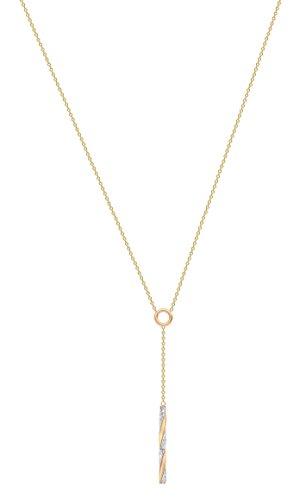 Carissima Gold - Collier Y - (375/1000) - Or jaune - Femme Tricolore