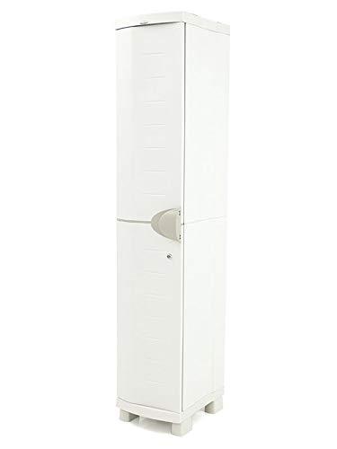 Plastiken Taquilla SPACE SAVER 35 cm color BEIG 35cm de ancho x 45cm de hondo x 184 cm de alto